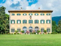 Party Like Voltaire and Goethe in This $16.6M Tuscan Manse - That's Rather Lovely - Curbed National  The Italian countryside might be lousy with opulent chateaus, but few can boast the same storied past and ridiculous amenities as the Villa Diodati in Lucca. On the market for $16.6M, the eight-bedroom, 12,0000-square-foot mansion dates back to the 16th century, and has been passed down through many notable Italians,
