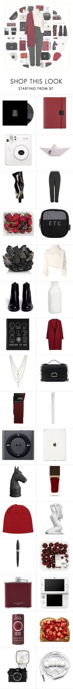 """"""".267"""" by sweet-sour-98 ❤ liked on Polyvore featuring Undercover, Fuji, NOVICA, CASSETTE, Aesop, Topshop, FRUIT, WithChic, McCoy Design and Ann Demeulemeester"""