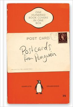 Holiday Wish List -- POSTCARDS FROM PENGUIN : One Hundred Book Covers in One Box