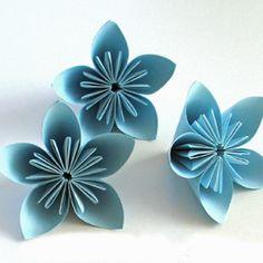 Créer des fleurs en origami