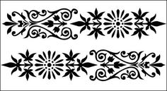 free vector European-style lace Vector -1