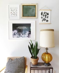 Love how this little gallery wall came together!