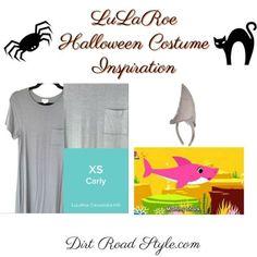 Mommy Shark LuLaRoe Costume Inspiration