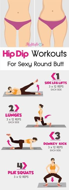 Hip Dip Workouts For Sexy Round Butt…. More from my site Hip Dip Workouts For Sexy Round Butt Hip Dip Workouts For Sexy Round Butt Mental Health Articles, Health And Fitness Articles, Health Fitness, Health Diet, Fitness Nutrition, At Home Workout Plan, At Home Workouts, Butt Workouts, Dip Workout