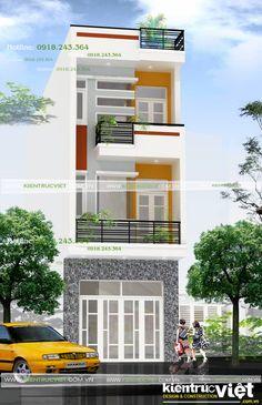Nhà phố 2 tầng, mặt tiền 4m