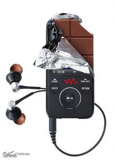 MP3 chocolate By Mandrak