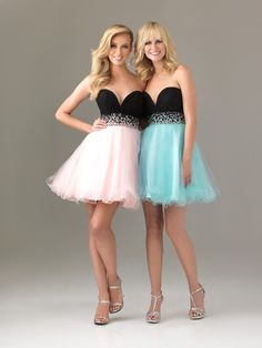 cocktail dresses?prom dresses for teens with straps 2015?cocktail dresses short stunning two-tone a-line sweetheart chiffon-tulle homecoming dress