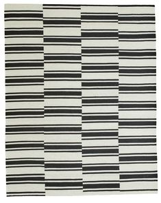 Bold, geometric design gives this rug statement-making potential. The offset linework offers a modern twist on the classic nautical stripe, perfect for contemporary spaces. Kye is made with viscose and wool for a soft hand and durability.