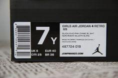 Air Jordan 4 Retro Vivid Pink GS, 487724-019