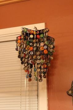 Accessories, Cool Wall Orange Color Picture Nice White Large Shaped Picture Good Nice Small Shaped Accessory Picture Nice Designs: Design Our Home Well With The Beautiful Of Home Made Wind Chimes That Looks So Cool And Nice