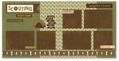 """The Great Outdoors: """"scout camp"""""""