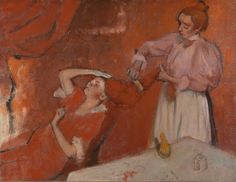 Combing the Hair ('La Coiffure') about 1896, Hilaire-Germain-Edgar Degas, The National Gallery