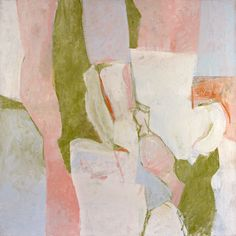 Charlotte Park  Untitled, ca. 1963   (Oil on canvas, 34 x 34 inches)  Spanierman Gallery, NYC