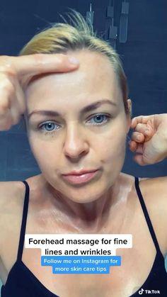 Massage Facial, Facial Yoga, Face Yoga Exercises, Beauty Tips For Glowing Skin, Face Contouring, Face Skin Care, Tips Belleza, Too Faced, Skin Care Tips