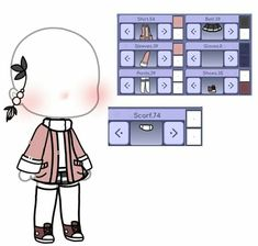Cute Boy Outfits, Club Outfits, Cute Anime Character, Character Outfits, Character Creator, Character Design, Club Hairstyles, Clothing Sketches, Cute Kawaii Drawings