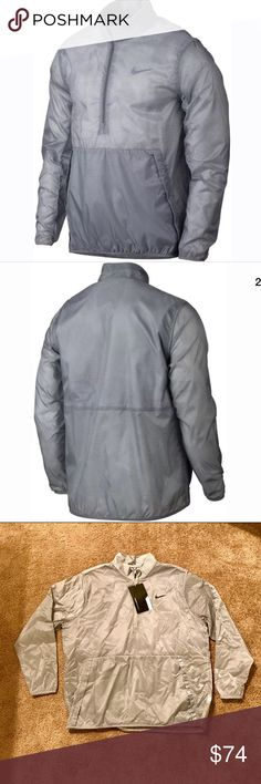 Nike Golf Hyperadapt Jacket Gray XXL NWT Brand new with tags.  Perfect condition.  Get yours for a steal!  Thanks for looking and be sure to check out my other items. Nike Jackets & Coats Lightweight & Shirt Jackets