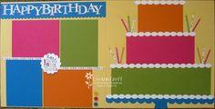 scrapbooking a birthday