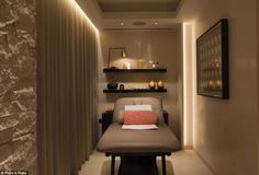 Well why not? Among the features on offer to the new owners is this treatment room