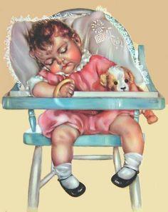 Charlotte Becker - sleeping baby(374×471)
