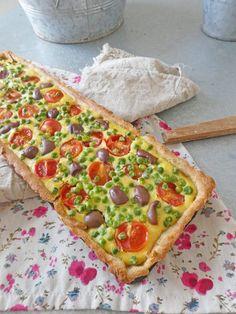 Tarte quiche végétalienne ( Sans céréales, faible teneur en matière grasse, Index glycémique contrôlé ) | KiwiForme