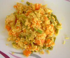 Rezept Fruchtiges Hähnchencurry alla Weight Watcher für 6SP oder Sattmacher (WW) von Nicky0784 - Rezept der Kategorie Hauptgerichte mit Fleisch