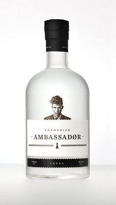 Norwegian Ambassadør #Packaging #Design #Package