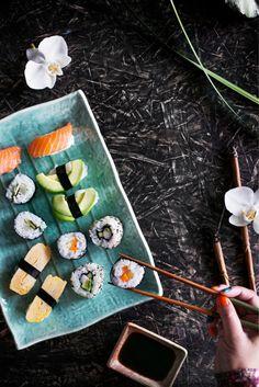 Maki sushi Food & Style Riikka Kaila Photo Satu Nyström Maku 6/2014, www.maku.fi