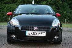 Black FIAT Grande Punto 5