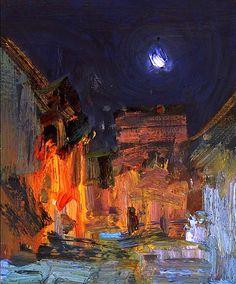 Night - Bato Dugarzhapov