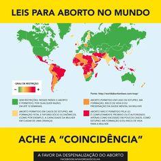Leis para o aborto no mundo