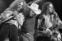 Allen Collins, Ronnie Van Zant, & Gary Rossington | Lynyrd Skynyrd