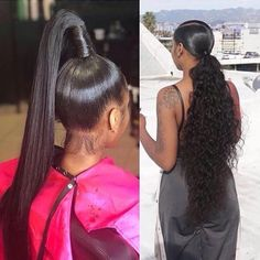 96 Inspirational Weave Ponytails Ideas for Pin by Jordan Brianna On Snatched✨, 57 Great Weave Ponytail for the Summer Style Easily, Hairstyle Silver Grey Afro Curly Weave Ponytail Hairstyles, 8 Gorgeous High Ponytail Hairstyles with Weave Hair Ponytail Styles, Weave Ponytail Hairstyles, Sleek Ponytail, Curly Hair Styles, Natural Hair Styles, Long Ponytail Weave, Prom Hairstyles, Rihanna Ponytail, Natural Hair Ponytail