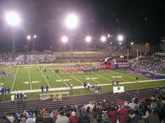 Rebel Stadium -West Monroe,LA- traveled through there and my wonderful man played football for ULM