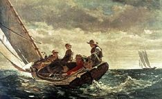 Breezing Up - Winslow Homer