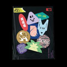 Plastic Poster Stickers Colors ACETONE Plastic, Stickers, Studio, Colors, Poster, Design, Studios, Colour