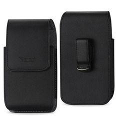 Reiko Vertical Pouch Samsung Galaxy S 4/ I9500/ L720/ I337/ I545/ S4 M919/ R970 Plus Black