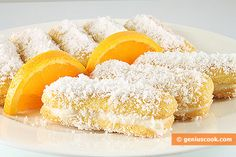 Cakes Made from Pavesini Biscuits with Coconut Shavings | Desserts | Genius cook - Healthy Nutrition, Tasty Food, Simple Recipes
