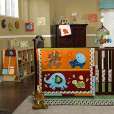 Kids Line™ Animal Parade Crib Bedding Collection- I'm leaning towards this one!!