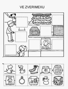 Z internetu - Sisa Stipa - Picasa Web Albums Printable Preschool Worksheets, Preschool Activities, Hidden Pictures Printables, Autistic Children, Kindergarten, Cut And Paste, Thinking Skills, Fun At Work, Free Prints