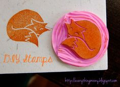 Everything Moony: DIY Stamps