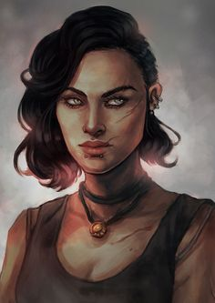 Nina keep your friends close and your enemies in a barbecue pit Character Creation, Character Concept, Character Art, Concept Art, Dnd Characters, Fantasy Characters, Female Characters, Fantasy Portraits, Character Portraits