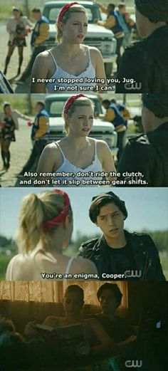 That was amazing #Riverdale #Bughead