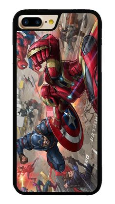 Captain America Superhero for iPhone 7 Plus Case #CaptainAmerica #ranger #avangers #Marvel #iphone7plus #covercase #phonecase #cases #favella