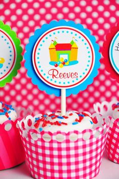 is this for real? I need this cupcake for my bouncy house birthday!
