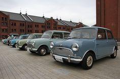 Mini Mark I Mini Cooper Classic, Mini Cooper S, Classic Mini, Classic Cars, Mini Morris, Mini Lifestyle, Nissan 370z, Cute Cars, Fiat 500
