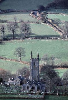 Widecombe on the Moor - Dartmoor Devon UK