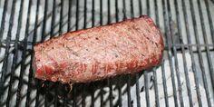 Roastbeef på grillen er superlækkert med en god olieblanding.