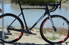 Spotted: Adam Craig's Prototype Disc Brake-Equipped Giant TCX Advanced - Sea Otter 2013