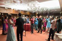 Wedding party of Prithvi and Nivedditha Nath