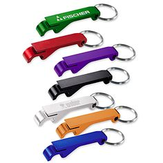 Shop at Deluxe for the Aluminum Bottle and Can Opener that can be customized with your logo or personalized message. Order Aluminum Bottle and Can Opener in bulk at wholesale prices today. Bottle Opener Keychain, Beer Bottle Opener, Bottle Openers, Swag Ideas, Free Artwork, Bars And Clubs, Can Opener, Craft Gifts, How To Memorize Things